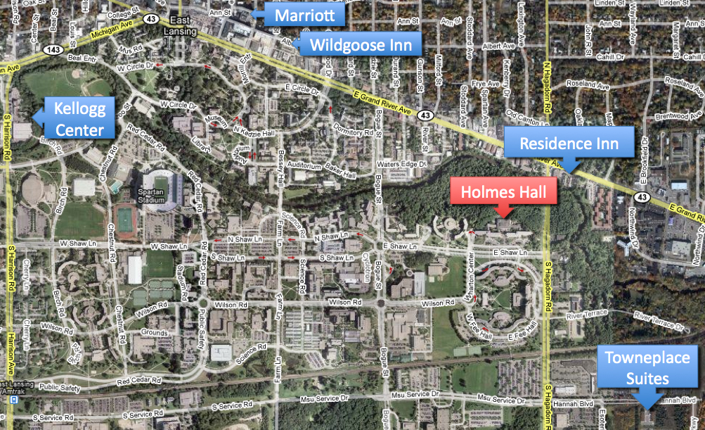 Hotels In East Lansing Area